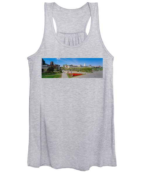 Buildings In A City, Place Jacques Women's Tank Top