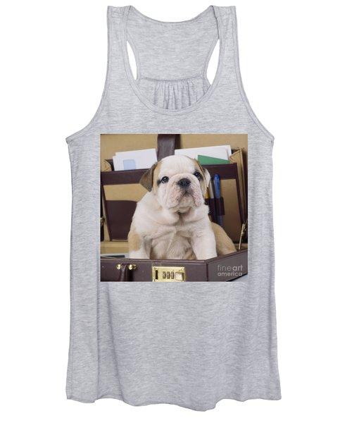 Bulldog Puppy Women's Tank Top