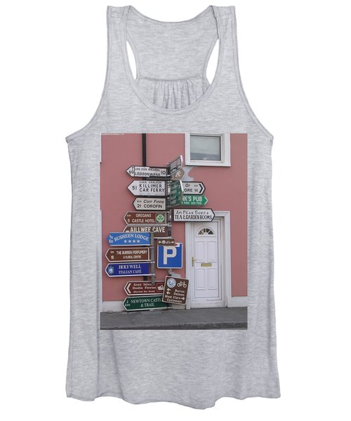Buren Signs Women's Tank Top