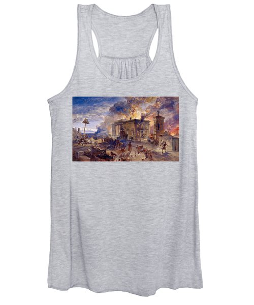 Burning Temple Of The Winds, 1856 Women's Tank Top