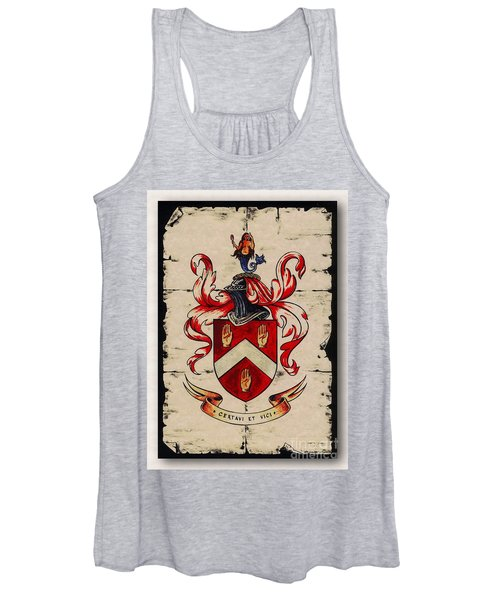 Byrne Coat Of Arms Women's Tank Top