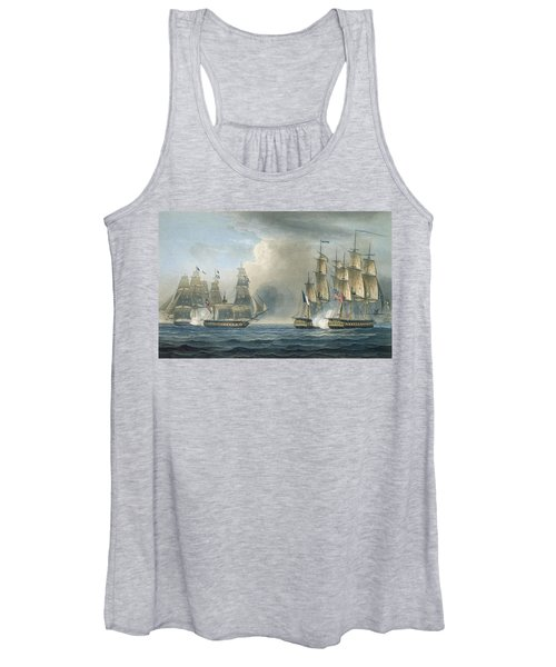 Capture Of The Pomone By Hms Arethusa Women's Tank Top