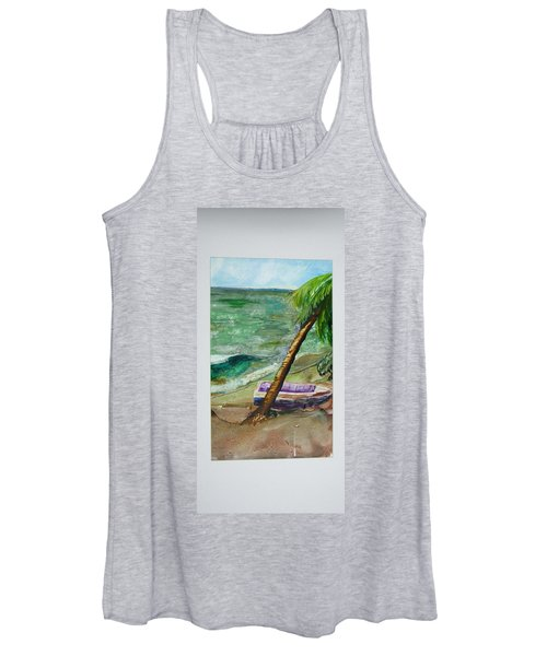 Caribbean Morning II Women's Tank Top