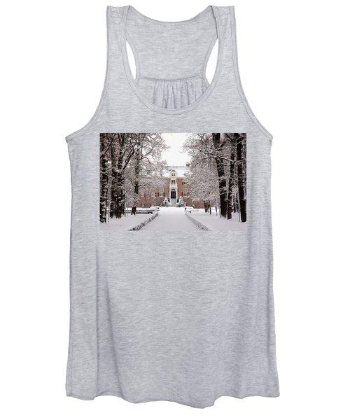 Castle In Winter Dress  Women's Tank Top
