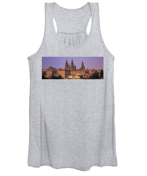 Cathedral In A Cityscape, Santiago De Women's Tank Top