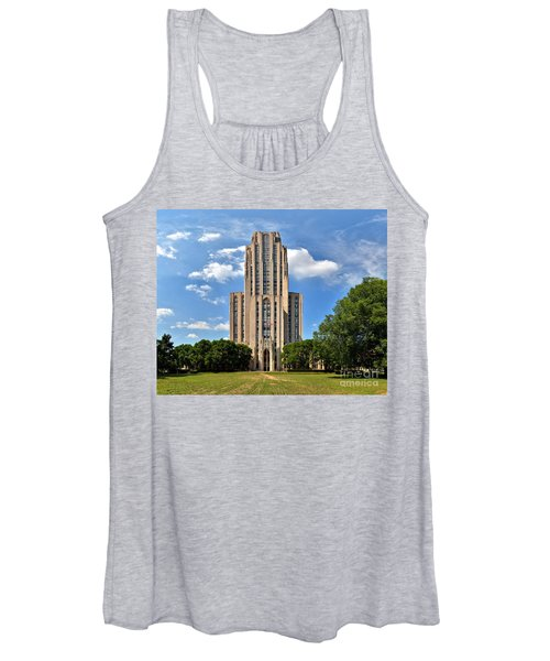 Cathedral Of Learning Pittsburgh Pa Women's Tank Top