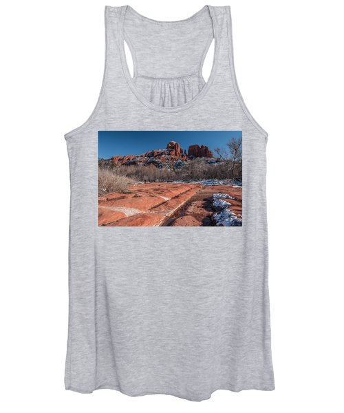 Cathedral Rock Winter Women's Tank Top