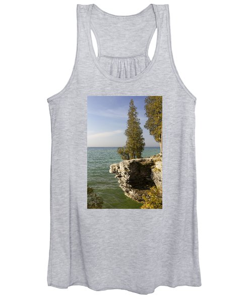 Cave Point - Signed Women's Tank Top