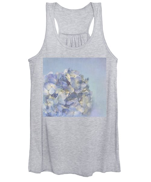 Charming Blue Women's Tank Top