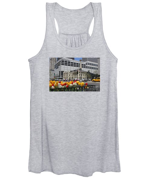 Chicago At Spring Time Women's Tank Top