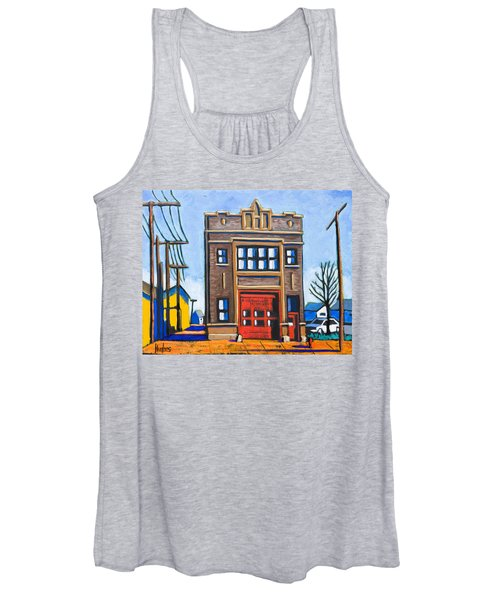 Chicago Fire Station Women's Tank Top