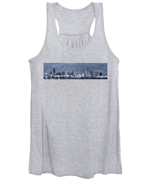 Chicago In Blue Women's Tank Top