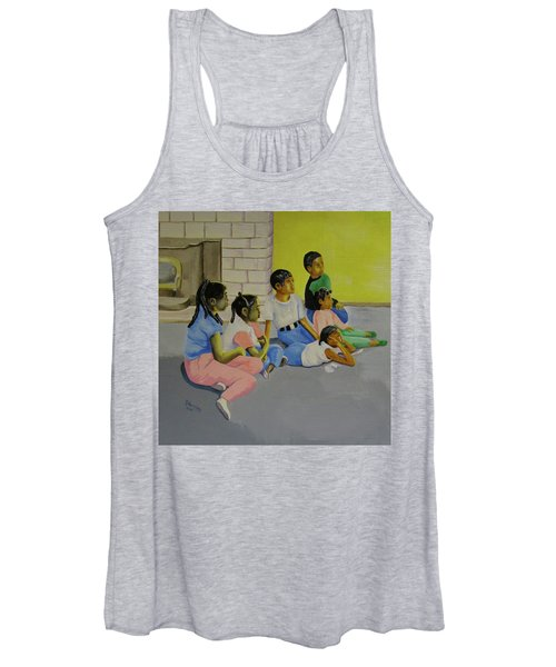 Children's Attention Span  Women's Tank Top