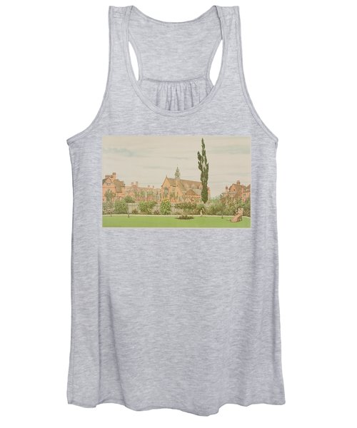 Church And Parsonage, Bedford Park, 1881 Women's Tank Top