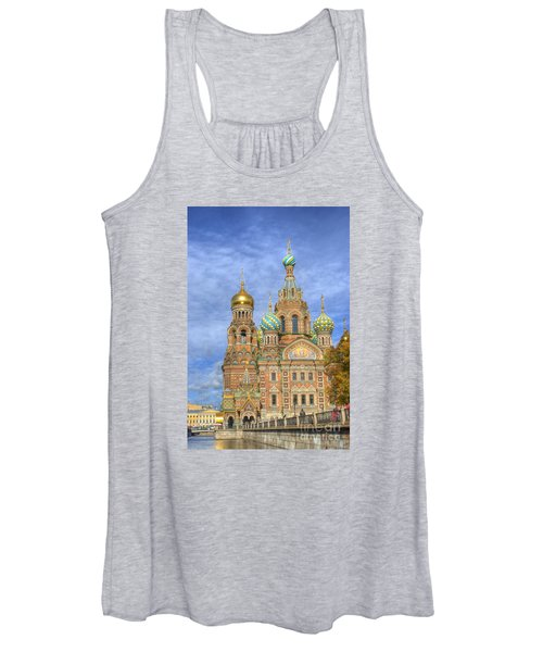 Church Of The Saviour On Spilled Blood. St. Petersburg. Russia Women's Tank Top