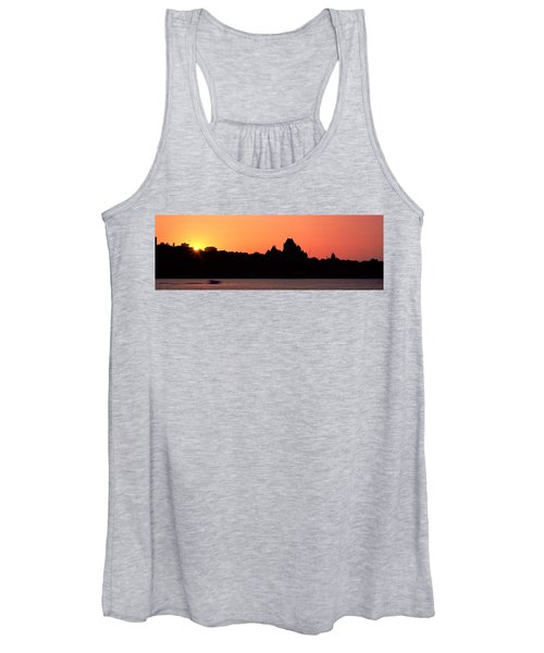 City At Sunset, Chateau Frontenac Women's Tank Top