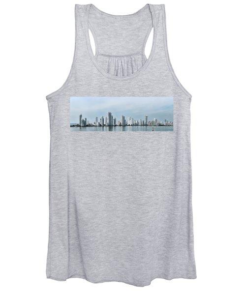 City Skyline, Castillogrande Women's Tank Top