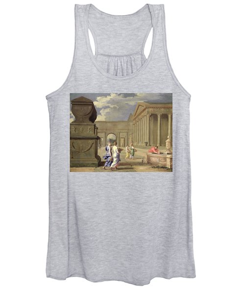 Classical Landscape Oil On Canvas Women's Tank Top