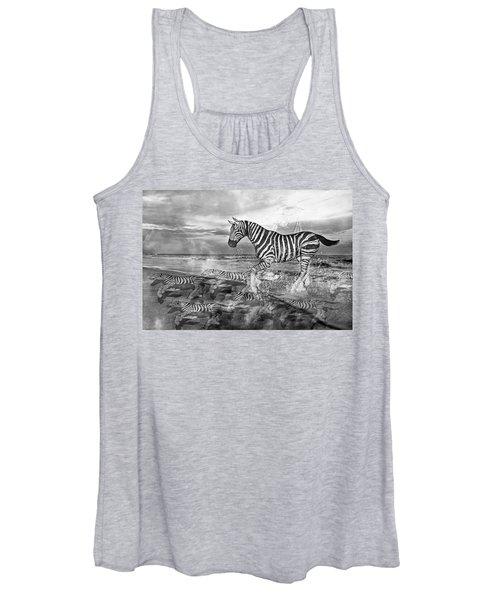 Coastal Stripes II Women's Tank Top