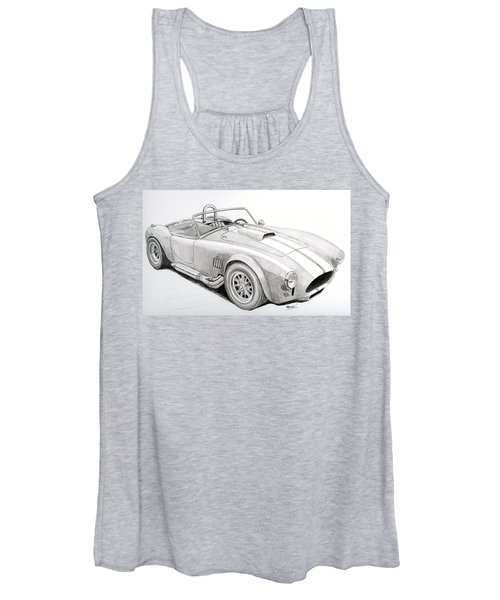 Ac Ford Cobra With 427  Women's Tank Top