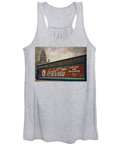 Coca-cola And A Courthouse Women's Tank Top