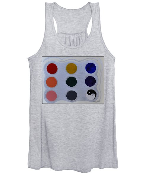 Color From The Series The Elements And Principles Of Art Women's Tank Top