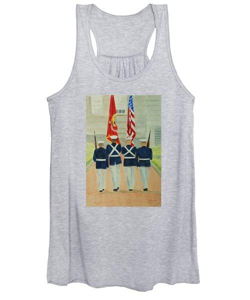 Color Guard Women's Tank Top