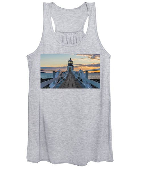 Colorful Ending Women's Tank Top