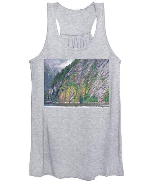 Colors Of Alaska - Misty Fjords Women's Tank Top