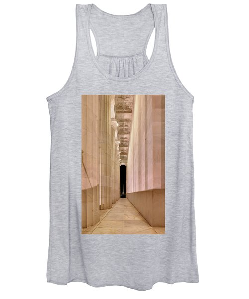 Columns And Monuments Women's Tank Top