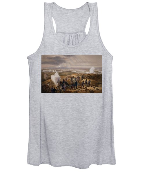 Commissariat Difficulties, Plate Women's Tank Top