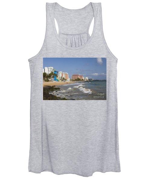 Condado Beach San Juan Puerto Rico Women's Tank Top