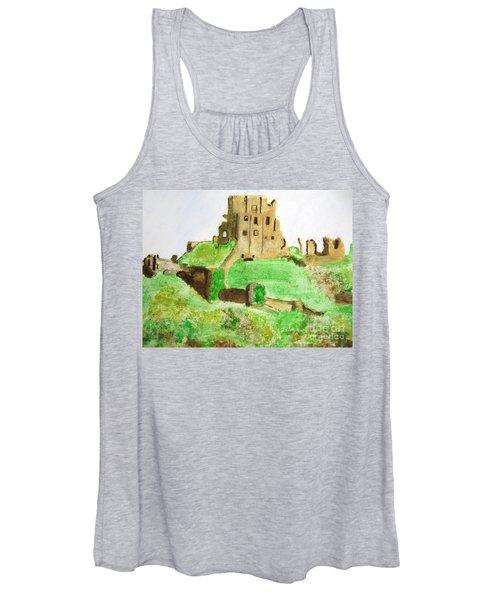 Corfe Castle Women's Tank Top