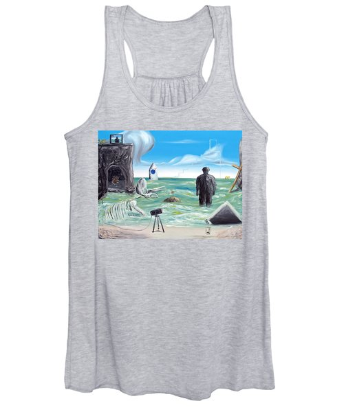 Cosmic Broadcast -last Transmission- Women's Tank Top
