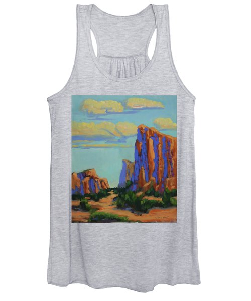 Courthouse Rock In Sedona Women's Tank Top