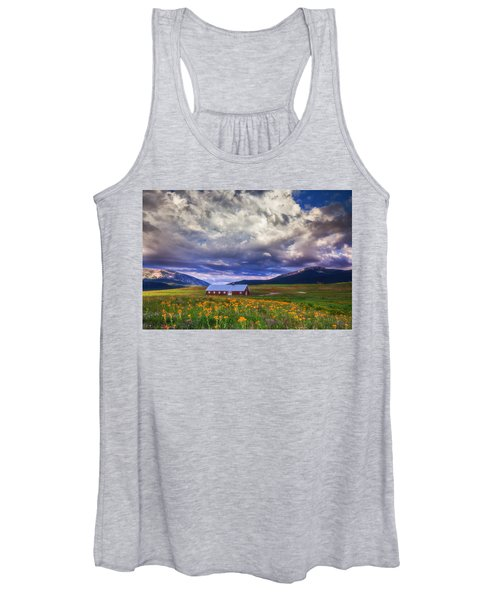 Crested Butte Morning Storm Women's Tank Top