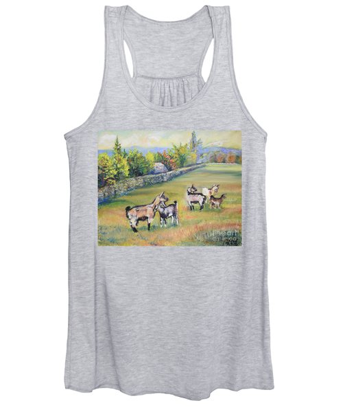 Croatian Goats Women's Tank Top