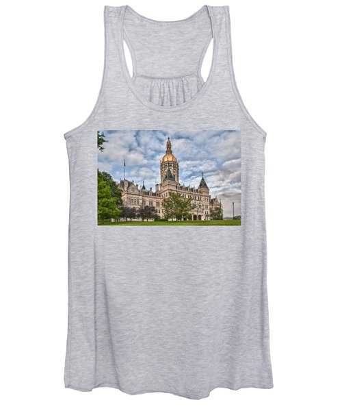 Ct State Capitol Building Women's Tank Top