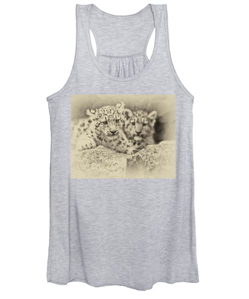 Cubs At Play Women's Tank Top