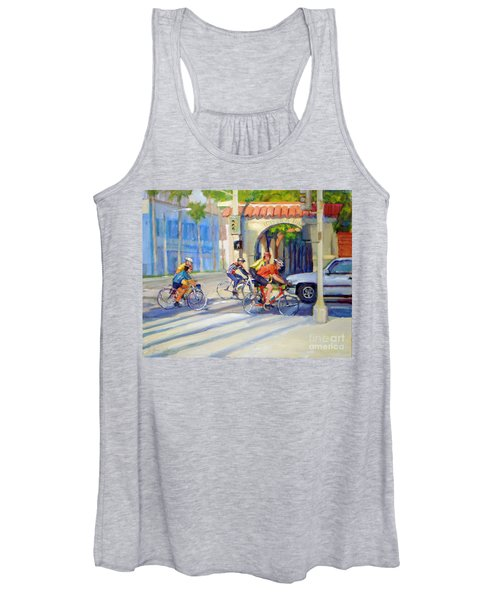 Cycling Past The Archway Women's Tank Top