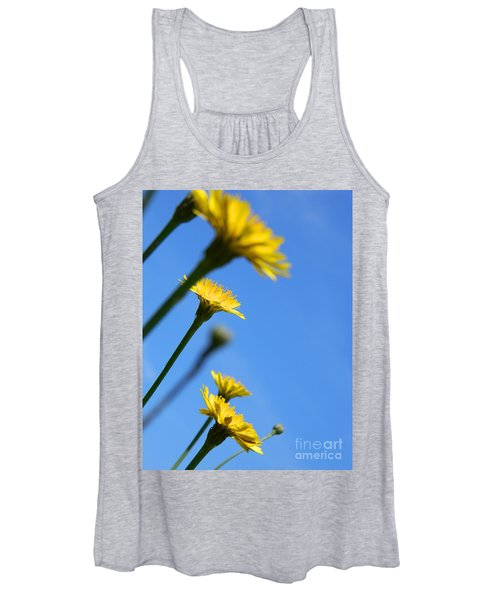 Dancing With The Flowers Women's Tank Top