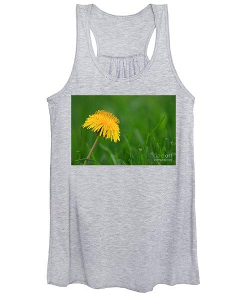 Dandelion Flower Women's Tank Top