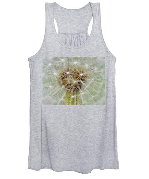 Dandelion Matrix Women's Tank Top