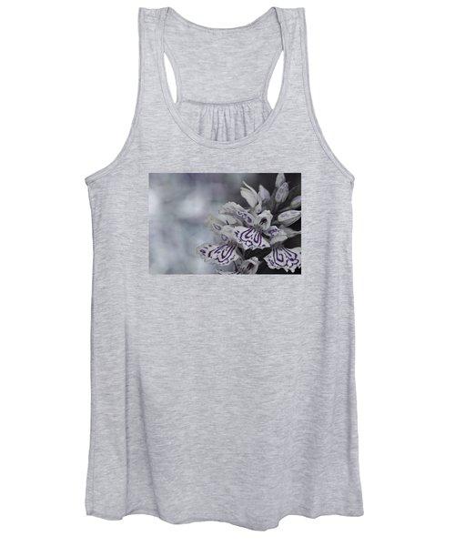Dark Angel Of Flowers Women's Tank Top
