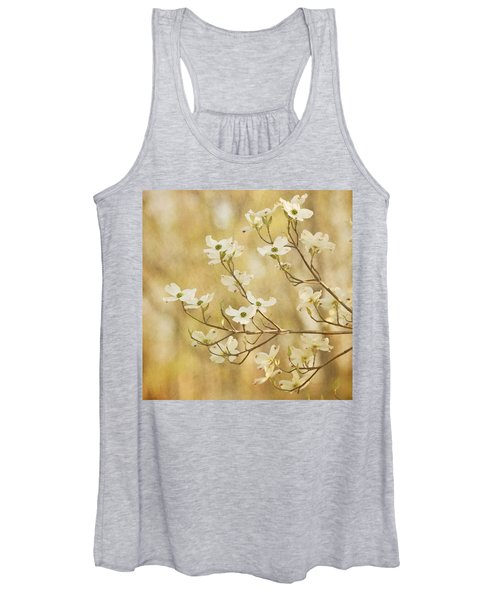 Days Of Dogwoods Women's Tank Top