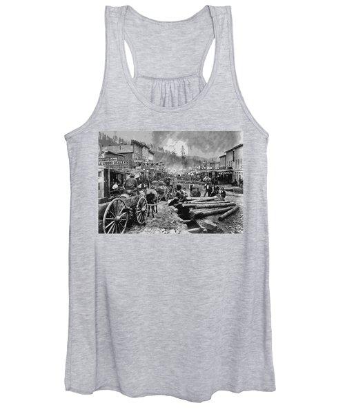 Deadwood South Dakota C. 1876 Women's Tank Top