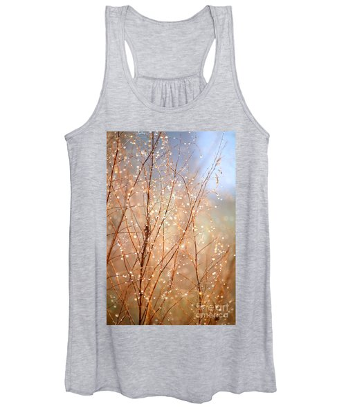 Dewdrop Morning Women's Tank Top