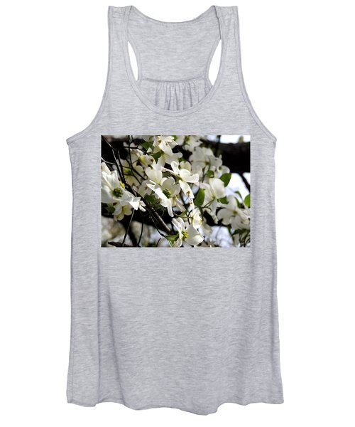 Dogwoods In The Spring Women's Tank Top