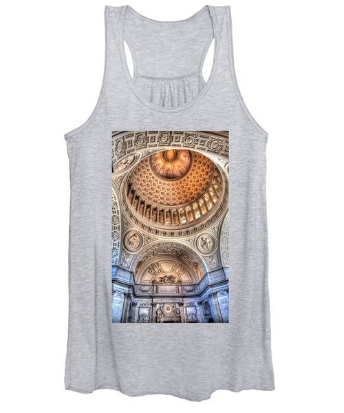 Domed Ornate Interior Women's Tank Top