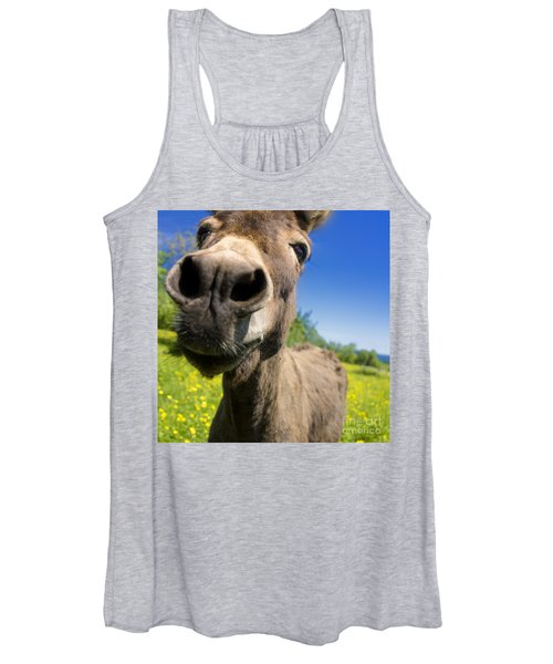 Donkey Women's Tank Top
